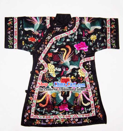 China 100% Hand Made Embroidery Palace Robe of Chinese Empress