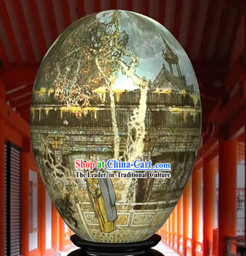 Chinese Wonder Hand Painted Colorful Egg-Memories