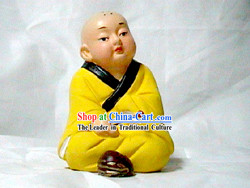 Tianjun Clay Figurine Zhang-Little Monk