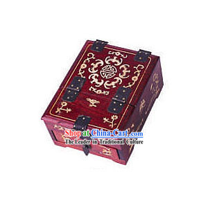 Chinese Chopsticks Box and Jewel Caskets-Flower Charm