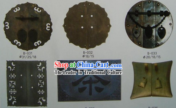 Chinese Archaize Copper Furniture Supplement Home Decoration 24