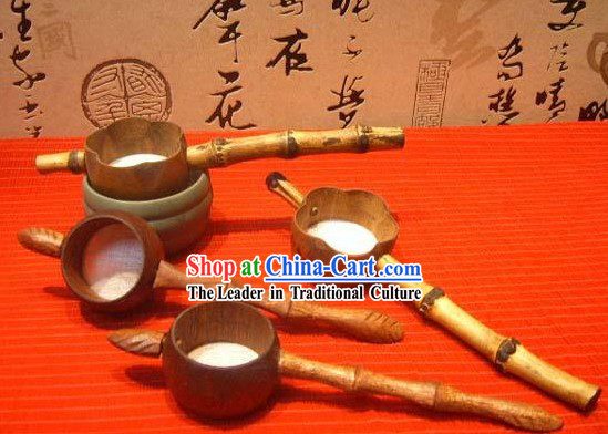 Chinese Hand Made Wooden Tea Tool Filter