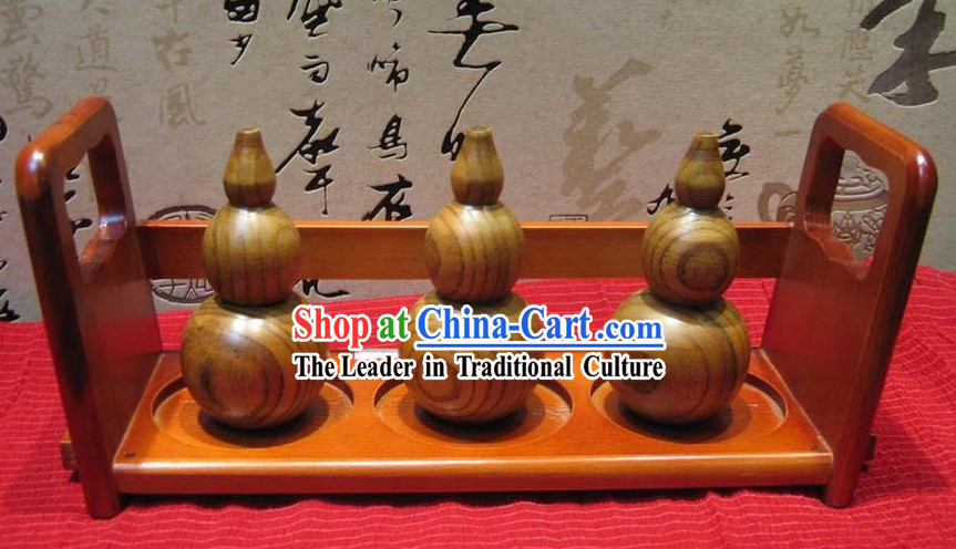 Chinese Hand Made Wooden Tooth-pick Holder