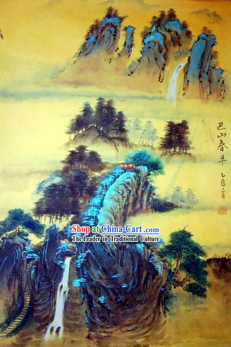 Chinese Traditional Painting by Peng Chengrong-Ancient Times