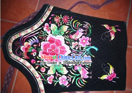 Chinese Classic Hand Embroidered Butterfly Baby Clothes