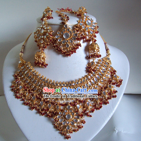 Indian Fashion Jewelry Suit-Riches and Honour