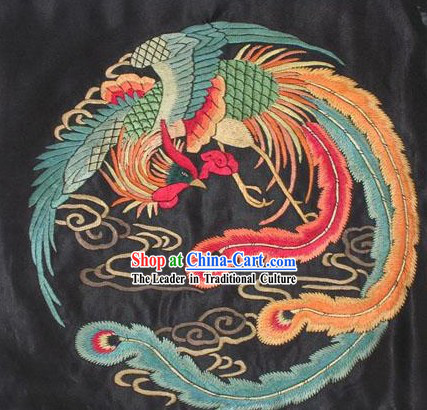 Chinese Embroidery Handicraft-Phoenix
