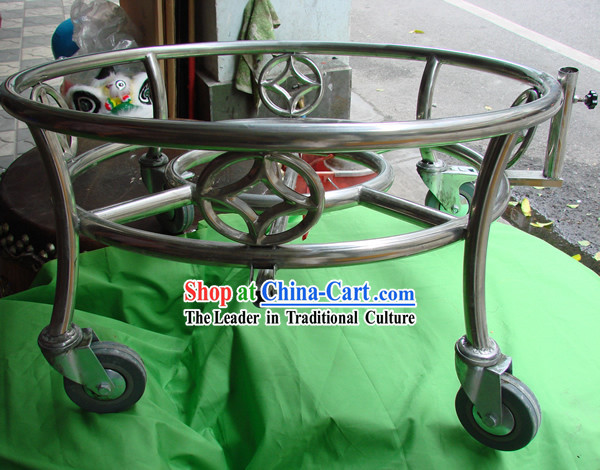 Chinese Dragon Dance and Lion Dance Drum Stand _ Drum Cart _ Druming Cart