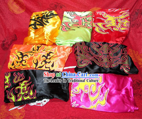 Traditional Chinese Silk Kung Fu Pants