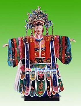 Chinese Traditional String Puppet - Empress