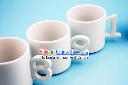 Numbers Cups 10 Pieces Set - Christmas and New Year Gift