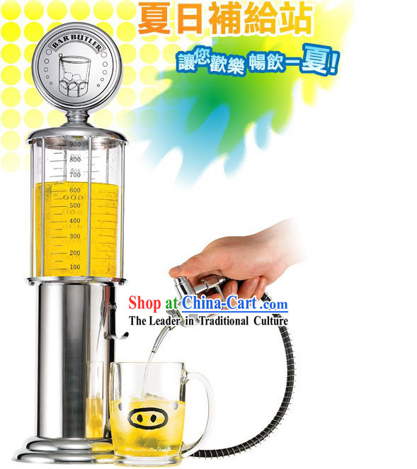 Gas Station Beverage Machine - Christmas and New Year Gift