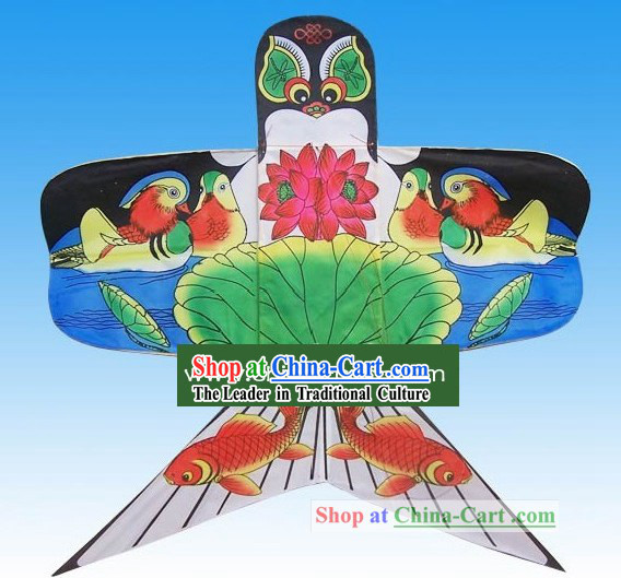 Chinese Classical Hand Made Swallow Kite - Pond