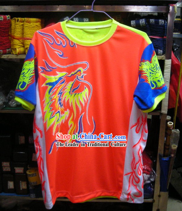 Professional Luminous Dragon Dance Performance T-shirt