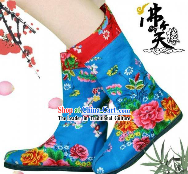 Traditional Chinese Hand Embroidery Cloth Shoes