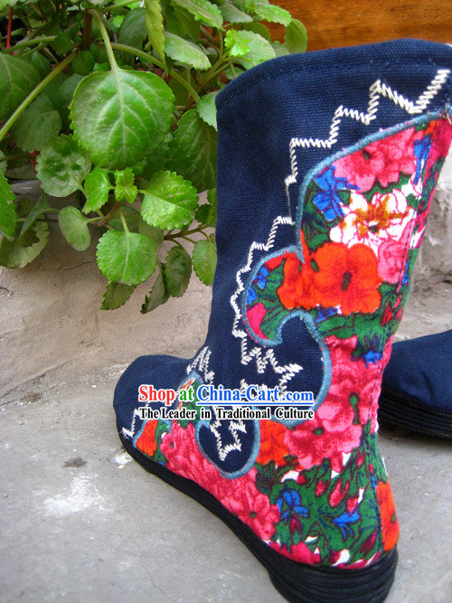 Hand Made Chinese Boots