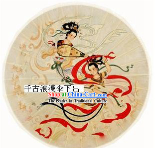 Chinese Traditional Ancient Flying Fairy Umbrella