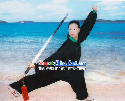 Chinese Professional Silk Tai Chi Uniforms