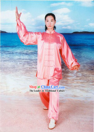 Chinese Professional Tai Chi Chuan 100_ Silk Uniform