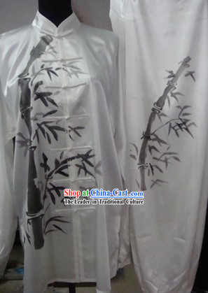 China Professional Sifu Tai Chi Bamboo Uniform for Men