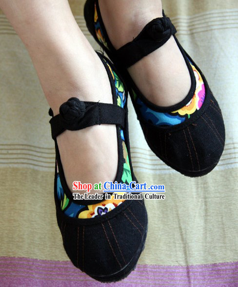 Chinese Cotton Shoes / Handicraft Shoes