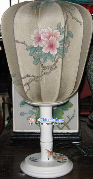 Chinese Antique Style Hand Painted Lantern / Peony Lamps and Lanterns
