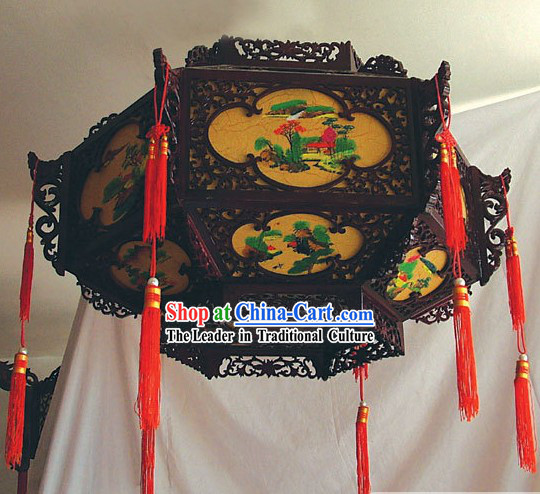 Large Chinese Antique Style Ceiling Palace Lantern