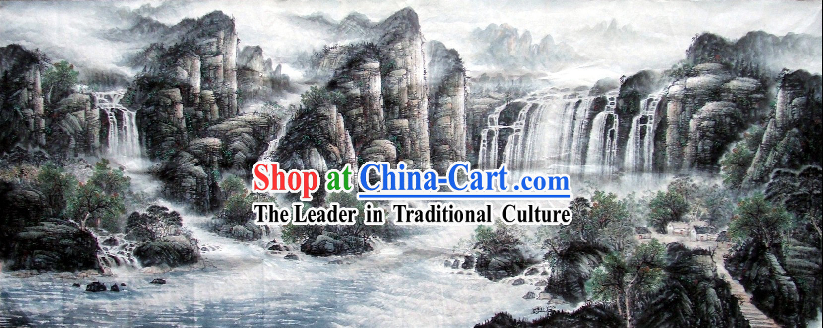 Chinese Wash Painting - Great Landscape