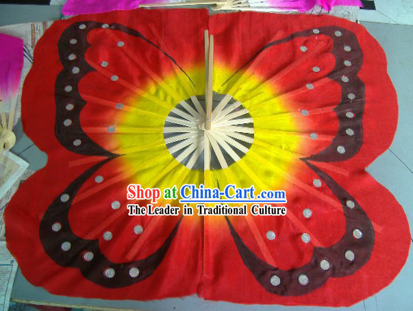 Special Traditional Handmade Butterfly Fan
