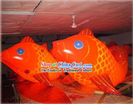 Large Inflatable Chinese Fish