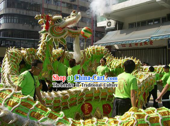 Top Chinese Classic Dragon Dance Costume Complete Set