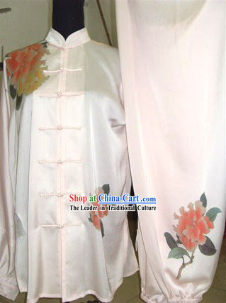 Chinese Professional Silk Tai Chi Uniform for Women
