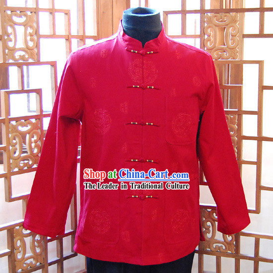 Traditional Chinese Mandarin Men Clothing