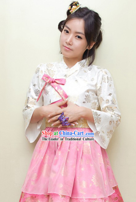 Modern Short Korean Hanbok for Women