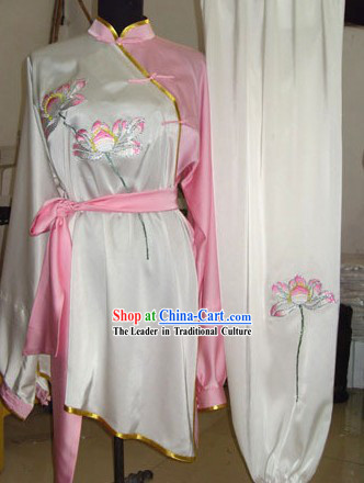 Chinese Classical Kung Fu Silk Uniform
