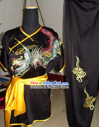Silk Kung Fu Martial Arts Uniform