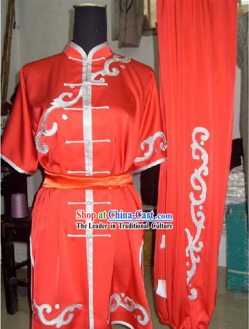 Kung Fu Master Silk Uniforms