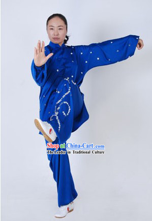 Traditional Kung Fu Silk Clothes Complete Set