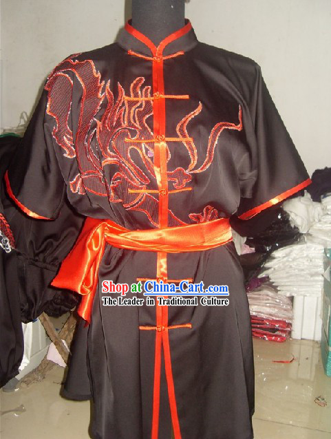 Chinese Dragon Kung Fu Uniform Set