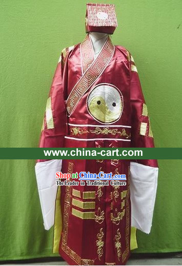 Zhuge Liang Costumes Complete Set