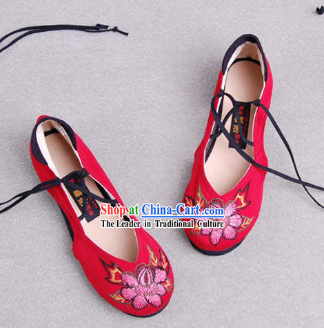 Chinese Classic Shoes _ Ancient Women Shoes _ Chinese Wedding Shoe