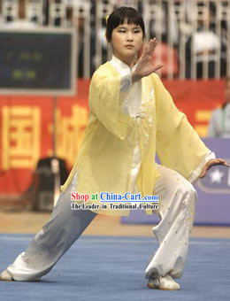 Traditional Chinese Tai Chi Uniform Complete Set