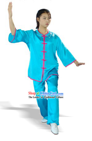 Chinese Silk Taiji Uniform for Women