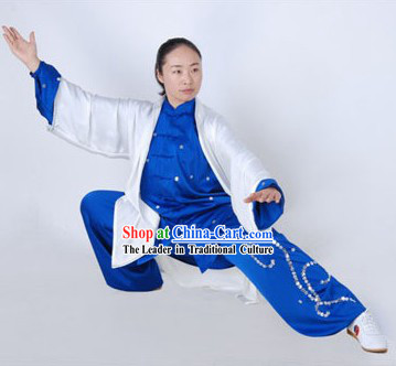 Traditional Chinese Wushu Teacher Uniform