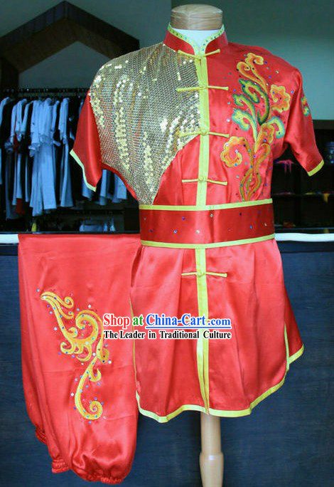 Chinese Changquan Long Fist Kung Fu Competiton Uniform