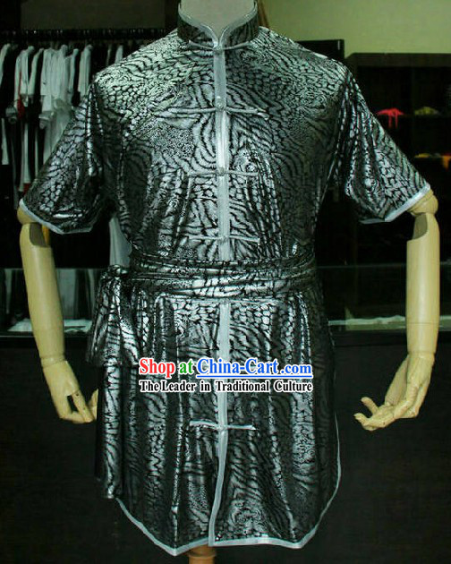 Chinese Kung Fu Competition Costume Complete Set