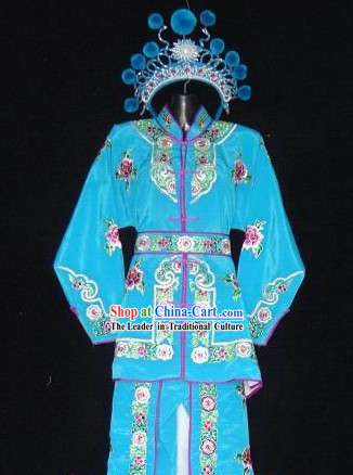 Chinese Opera Kung Fu Costume Complete Set