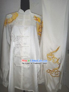 Chinese Silk Long Fist Competition Uniform