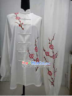 Traditional Tai Chi Wu Shu Silk Competition Dress Set