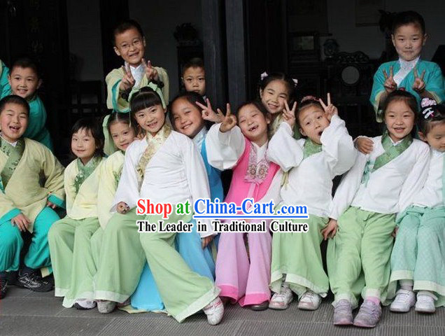 Ancient Chinese Students Uniform